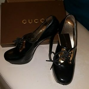 Gently used Gucci Heels.